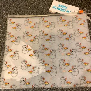 Cute Cosmetic Pouch with Unicorns